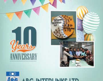 ABG Interlinks Ltd is celebrating it's 10 years of anniversary (2009-2019)